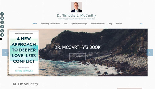 Dr Timothy J McCarthy Website