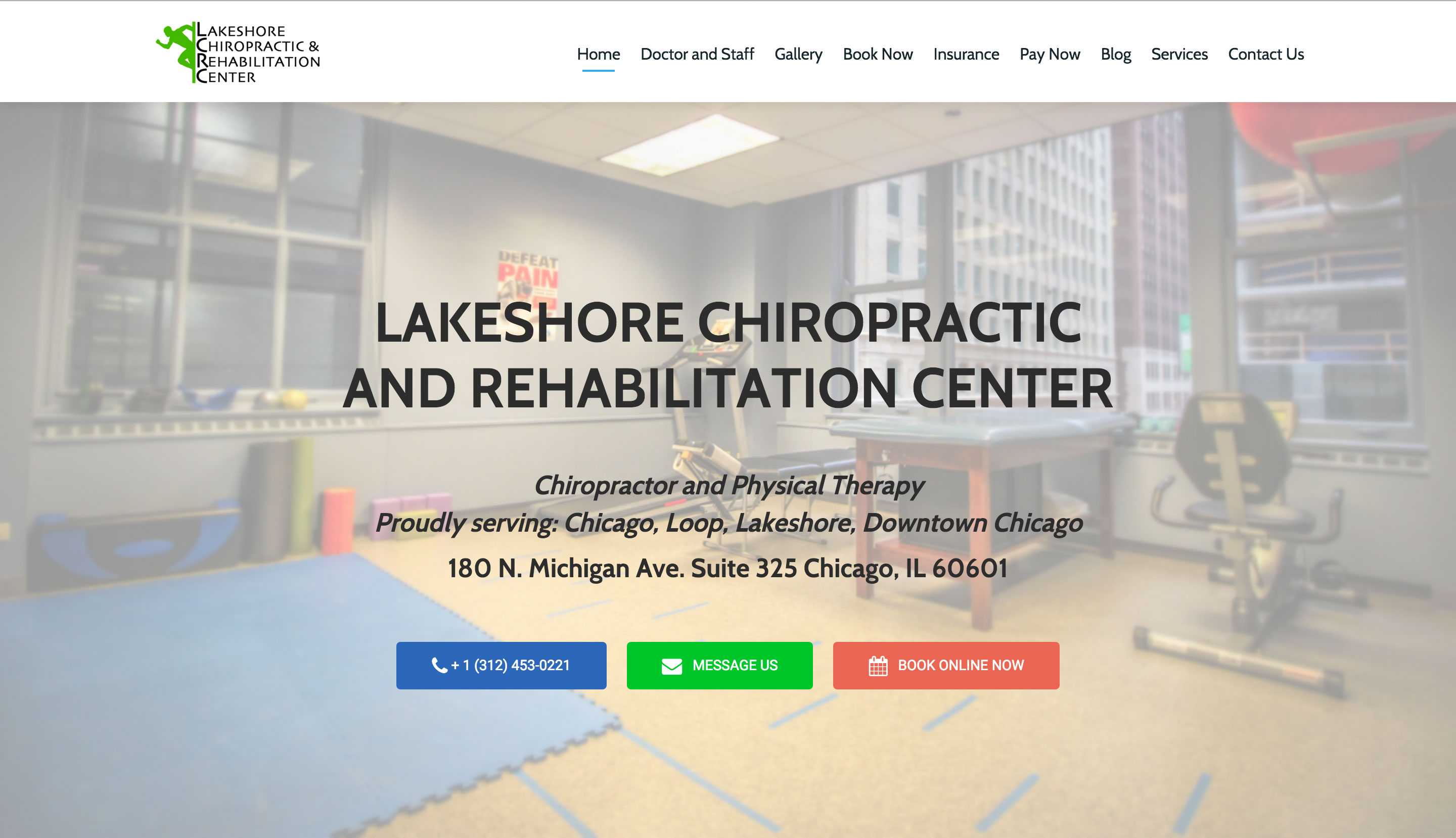 Lakeshore Chiropractic and Rehabilitation Center After pic